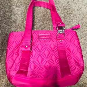 Deanna pink tote shopper  bag q
